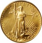 1991 Half-Ounce Gold Eagle. MS-69 (PCGS).