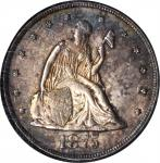 1875-CC Twenty-Cent Piece. BF-2. Rarity-1. MS-63 (NGC).