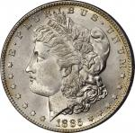 1885-S Morgan Silver Dollar. MS-66 (PCGS).