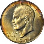 1971-S Eisenhower Dollar. Silver Clad. MS-67 * (NGC).