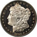 1895 Morgan Silver Dollar. Proof-64+ Deep Cameo (PCGS). CAC.