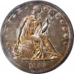 1840 Liberty Seated Silver Dollar. Proof-63 (PCGS).