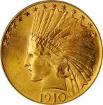 1910 Indian Eagle. MS-65 (PCGS).