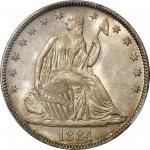 1884 Liberty Seated Half Dollar. MS-67 (PCGS). CAC.