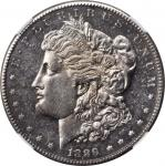 1889-CC Morgan Silver Dollar. Unc Details--Cleaned (NGC).