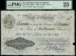 Bank of England, John Gordon Nairne (1902-1918), 100, London, 14 January 1913, serial number 1/O 516