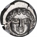 THRACE. Apollonia Pontica. AR Drachm (2.84 gms), ca. 5th to 4th Century B.C.