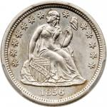 1856-O Liberty Seated Dime. PCGS MS63