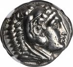 MACEDON. Kingdom of Macedon. Alexander III (the Great), 336-323 B.C. AR Tetradrachm (17.16 gms), Amp