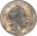 SUÈDE Charles XV (1859-1872). 4 riksdaler, aspect Flan bruni (PROOFLIKE) 1862 ST, Stockholm.