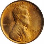 1909-S/S Lincoln Cent. FS-1502. S/Horizontal S. MS-66 RD (PCGS).