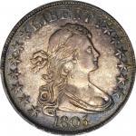 1805/4 Draped Bust Half Dollar. O-102, T-5. Rarity-3. AU-53 (PCGS). CAC.