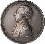 1789 (pre-1842) Avenger of Liberty in Two Worlds Medal. Original. Fuld LA.1790.4, Olivier-7. Silver.