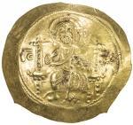 BYZANTINE EMPIRE: Michael VII Doukas, 1071-1078, AV histamenon (4.35g), S-1869, Christ Pantokrator s