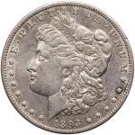 1893-O Morgan Dollar. EF45