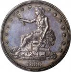 1880 Trade Dollar. Proof-61 (PCGS). OGH.