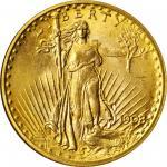 1908 Saint-Gaudens Double Eagle. No Motto. MS-68 (NGC).