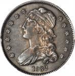 1832 Capped Bust Quarter. B-2. Rarity-2. MS-64 (PCGS).