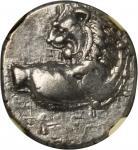 THRACE. Thracian Chersonesus. AR Hemidrachm (2.40 gms), 4th Century B.C..