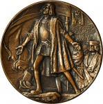 1892-1893年哥伦比亚世界博览会奖章 近未流通