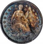 1857 Liberty Seated Half Dime. MS-67 (PCGS).