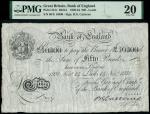 Bank of England, Basil Gage Catterns (1929-1934), 50, Leeds, 14 November 1931, serial number 66/X 10