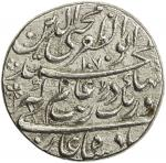 India - Mughal Empire. MUGHAL: Aurangzeb, 1658-1707, AR rupee (11.25g), Tatta, AH1070 year 1 (ahad),