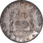 MEXICO. 8 Reales, 1768-Mo MF. Mexico City Mint. Charles III. NGC MS-62.