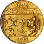 POLAND. DANZIG. 25 Gulden, 1930. ICG MS-65. WINGS Approved.