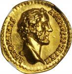ANTONINUS PIUS, A.D. 138-161. AV Aureus (7.25 gms), Rome Mint, ca. A.D. 148-149.