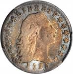 1795 Flowing Hair Half Dime. LM-3. Rarity-5. Fine Details--Bent (PCGS).