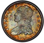 1833 Capped Bust Quarter. Browning-1. Rarity-2. Mint State-67 (PCGS).PCGS Population: 1, none finer.