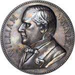 1901 William McKinley Presidential Medal. Silver. 77.1 mm. 263.7 grams. cf. Failor-Hayden 124. Mint