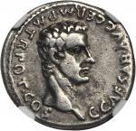 CALIGULA, A.D. 37-41. AR Denarius (3.68 gms), Lugdunum Mint, ca. A.D. 37.