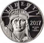 2017-W One-Ounce Platinum Eagle. Proof-69 Deep Cameo (PCGS).