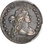 1796年自由女神半像银币 PCGS XF 45