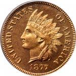 1877 Indian Cent. Snow-PR3. Proof-67 RD (PCGS).