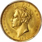 1830年英国1英镑金币。