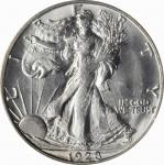 1928-S Walking Liberty Half Dollar. MS-64 (PCGS).