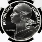 FRANCE 5th Rep 第五共和政(1958~) 10Francs 2000 NGC-PF70 Ultra Cameo Proof