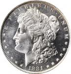 1881-S Morgan Silver Dollar. MS-66 PL (PCGS). CAC. OGH.