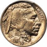 1914-S Buffalo Nickel. MS-65 (PCGS).
