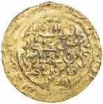 AMIR OF WAKHSH: Abu l- Abbas, 1221-1224, AV dinar (2.49g), Wakhsh, DM, A-E1754, VF.   It has been su