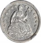 1851 Liberty Seated Half Dime. AU Details--Cleaned (NGC).