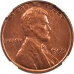 1955 Lincoln Cent. FS-101. Doubled Die Obverse. Unc Details--Altered Color (NGC).