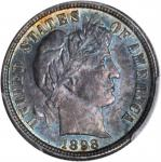 1898-S Barber Dime. MS-65+ (PCGS).