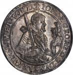 GERMANY. Saxony. Taler, 1624. Johann Georg II (1615-56). NGC MS-63.
