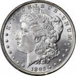 1892-CC Morgan Silver Dollar. MS-63 (PCGS).