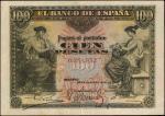 SPAIN. El Banco De Espana. 100 Pesetas, 30.5.1906. P-59. Very Fine.