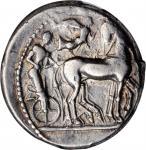 SICILY. Syracuse. Deinomenid Tyranny, 485-466 B.C. AR Tetradrachm (17.27 gms), struck under Hieron I